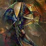 Abstraction 0497 Marucii Art Print