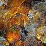 Abstraction 435-08-13  Marucii Art Print
