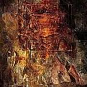 Abstraction 464-09-13 Marucii Art Print