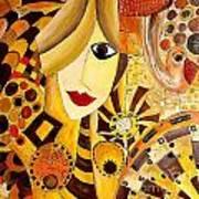 Abstraction 676 - Marucii Art Print