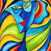 Abstraction 757 - Marucii Art Print