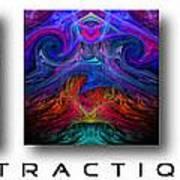 Abstractique 3 Art Print