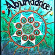 Abundance Money Magnet - Healing Art Art Print
