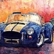 Ac Cobra Shelby 427 Art Print by Yuriy  Shevchuk
