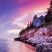 Acadia Sunset Art Print