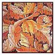 Acanthus Vine Design Print by William Morris