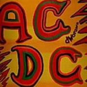 Acdc Art Print