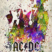 Acdc In Color Art Print