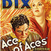 Ace Of Aces, Us Poster Art, From Left Art Print