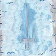 Ace Of Swords Art Print