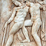 Achilles And Penthesilea Art Print