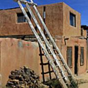 Acoma Pueblo Adobe Homes 3 Art Print