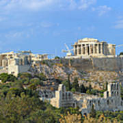 Acropolis Of Athens Art Print