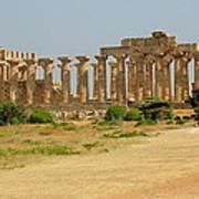 Acropolis Of Selinunte Art Print