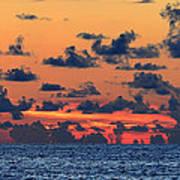 Across The Great Blue Waters Art Print