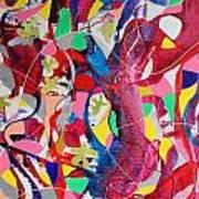 Acrylic Msc 042 Art Print