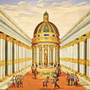 Bacchus Temple Art Print