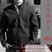 Actor In Christmas Ride Film Art Print