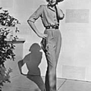 Actress Grace Kelly Art Print