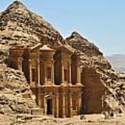 Ad Deir In Petra Art Print