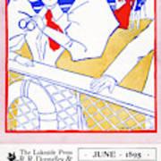 Ad Lakeside Press, 1895 Art Print