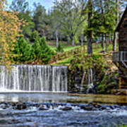 Adairs Mill Art Print by Bob Jackson