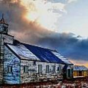 Adak Alaska Church Art Print