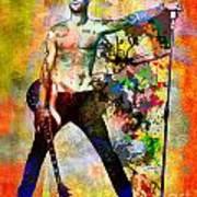 Adam Levine - Maroon 5 Art Print