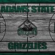 Adams State Grizzlies Art Print