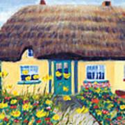 Adare Cottage Art Print