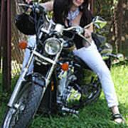 Adel Easy Rider Art Print