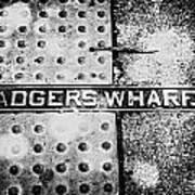 Adgers Wharf Art Print