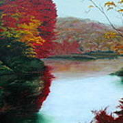 Adirondack Autumn Art Print