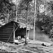 Adirondacks Cabin, C1909 Art Print