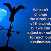 Adjust Our Sails Art Print