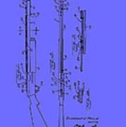 Adjustable Shotgun Choke Control Patent Art Print