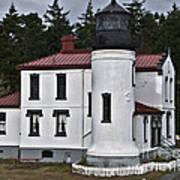 Admiralty Head Lighthouse 2 Art Print