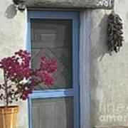 Adobe Home In Ft. Lowell Art Print