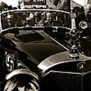 Adolf Hitler's 1941 Mercedes-benz 770-k Touring Car Sold At Auction Scottsdale Arizona 1973 Art Print