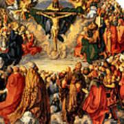 Adoration Of The Trinity Art Print