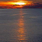 Adriatic Sunset Art Print