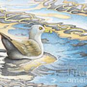 Adrift Art Print by Wayne Hardee