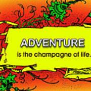 Adventure Art Print by Mike Flynn