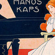 Advertisement For Kaps Pianos Art Print