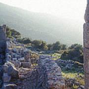 Aegothena Fortification Art Print