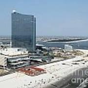 Aerial Of Revel On The Oceanfront Art Print