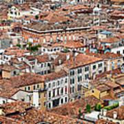Aerial Of Venice Art Print