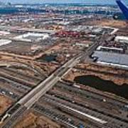 Aerial Over Newark Art Print