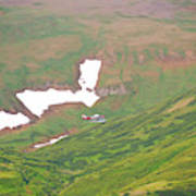 Aerial View Of Alaskan Landscape Art Print