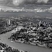 Aerial View Of London 4 Art Print